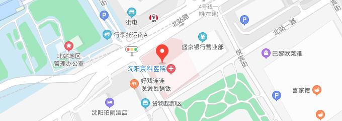 沈阳京科妇科医院地址